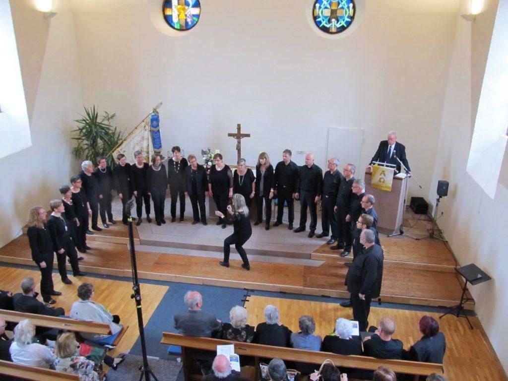 Wertungssingen in der Schwanheimer Kirche