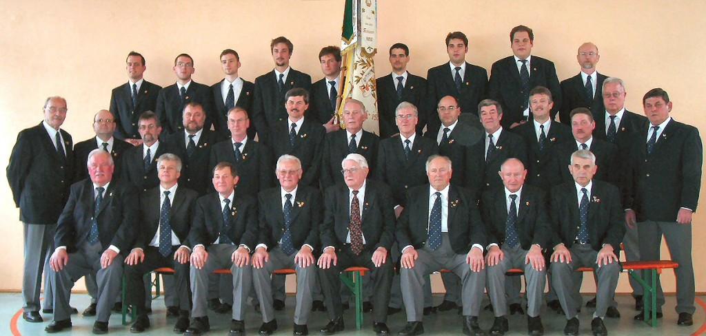 Der Chor zum 140-jährigen Jubiläum