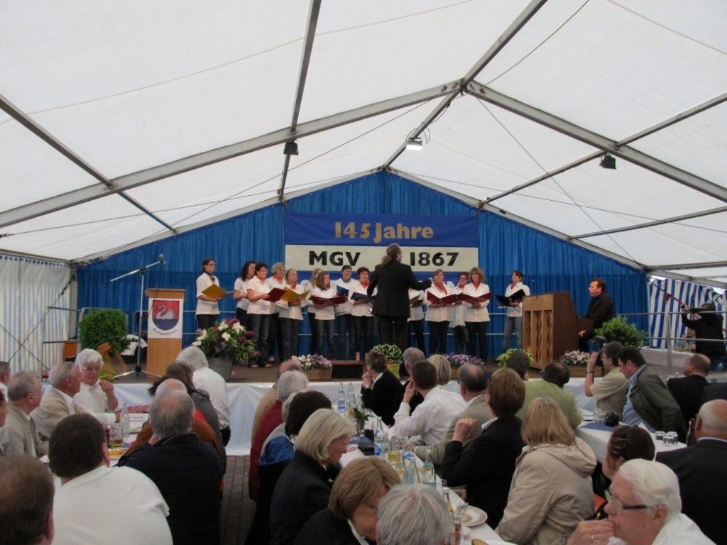 Sängerfest 145 Jahre MGV