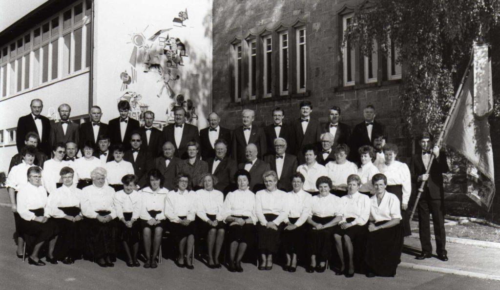 Der gemischte Chor anlässlich des 125-jährigen Jubiläums
