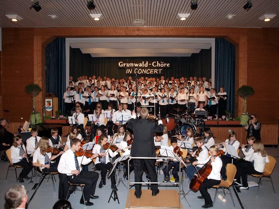Konzert Grunwald-Chöre in Epfenbach