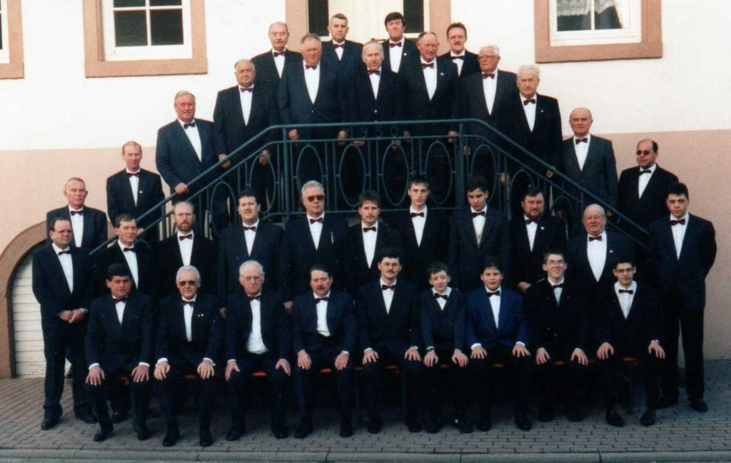 130 Jahre MGV - Männerchor